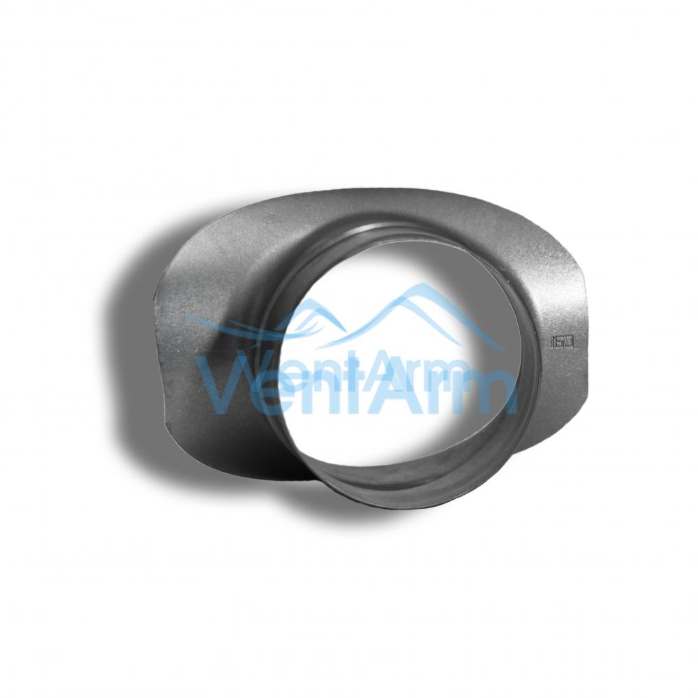 Врезка для круглых воздуховодов 125/160