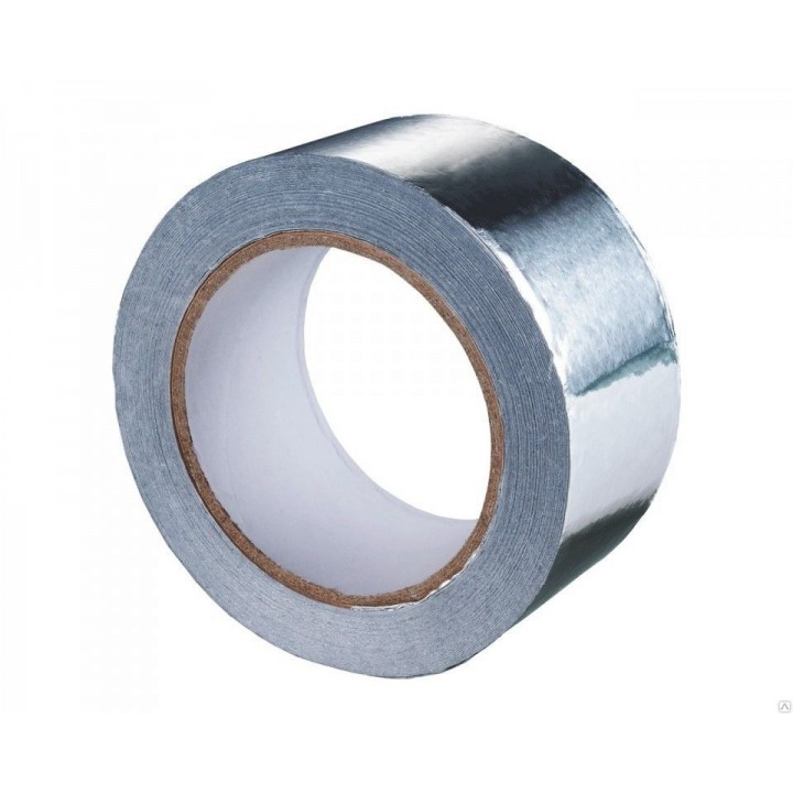AIRONE Скотч алюминиевый 50 мм*50 м