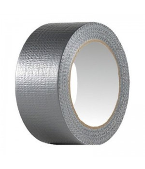 Скотч армированный серый 50 мм*50 м