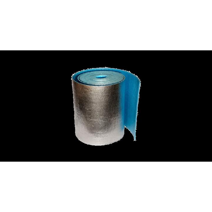 Пенофол самоклеющийся,фольгированный 5мм, 30м2 С 05