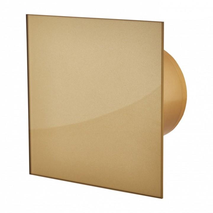 Вентилятор накладной  MM-P 100/105 Стекло золото
