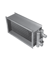Shuft водяной нагреватель для прямоугольных каналов WHR 1000x500-2