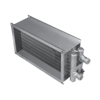 Водяной канальный нагреватель для прямоугольных каналов Shuft WHR 1000x500-2