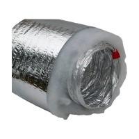 Гибкий теплоизолированный металлизированный воздуховод АПЛ Ø506х10м