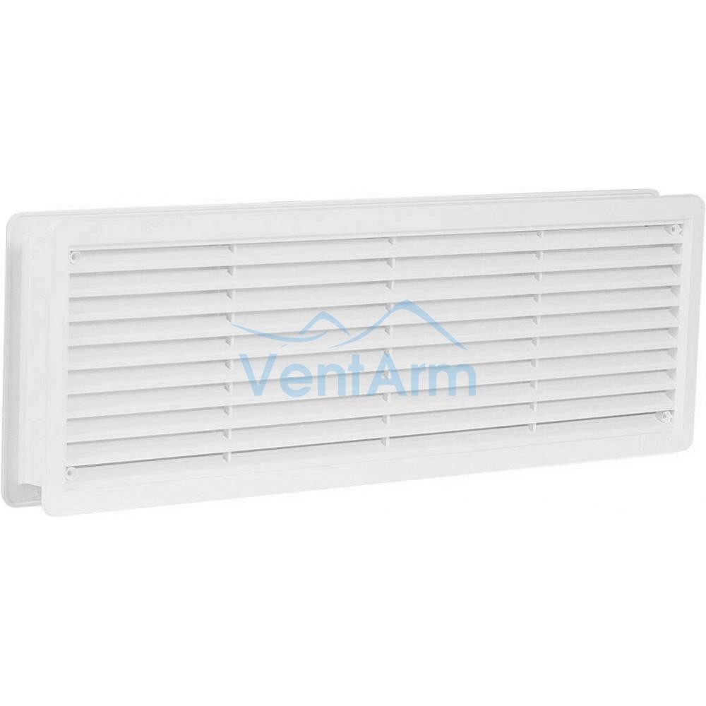 Решетка вентиляционная дверная Haco VM 400x130 Белый