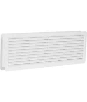 Вентиляционная дверная решетка VM400x130 Белый