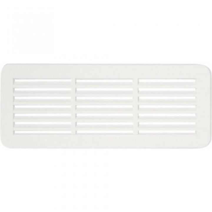 Решетка вентиляционная пластиковая Haco VM 150x60 Белый