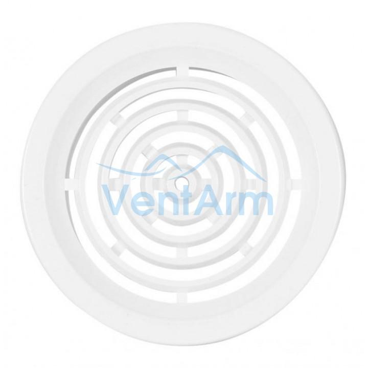 Решетка вентиляционная пластиковая Haco VM Ø50 Белый (комплект 4шт)