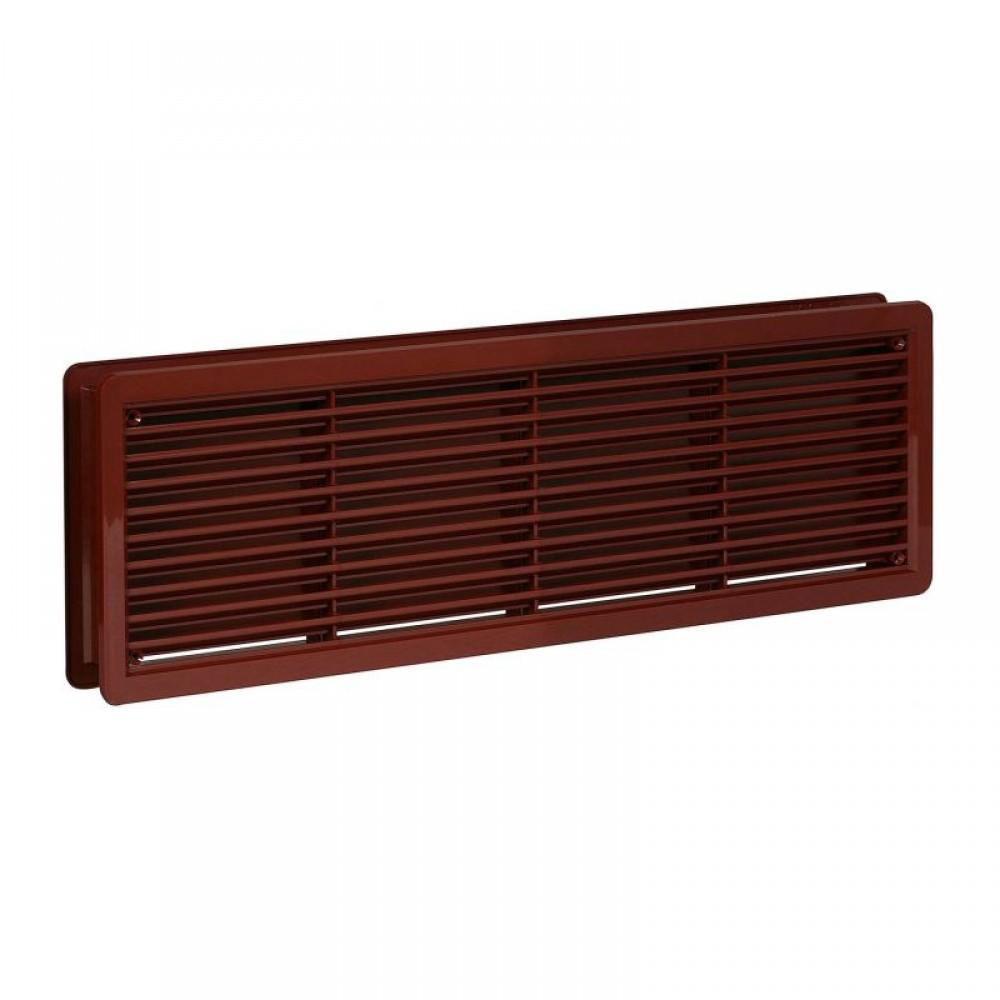 Решетка вентиляционная дверная Haco VM 500x90 Коричневый