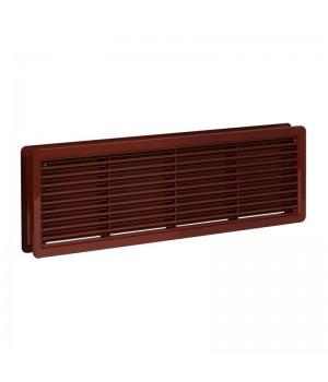 Решетка вентиляционная дверная Haco VM 400x130 Коричневый