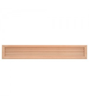 Решетка вентиляционная деревянная Haco DVM 500x90