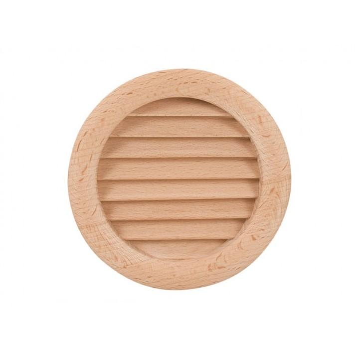 Решетка вентиляционная деревянная Haco DVM Ø110