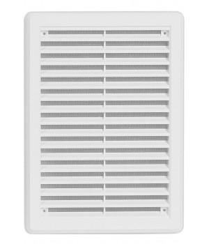Решетка вентиляционная пластиковая  Haco VM 175x250 Белый