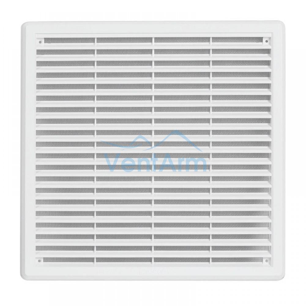 Решетка вентиляционная пластиковая  Haco VM 150x150 Белый