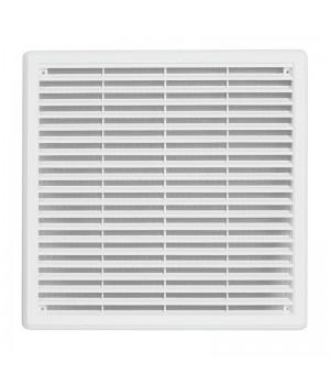 Решетка вентиляционная пластиковая  Haco VM 100x100 Белый