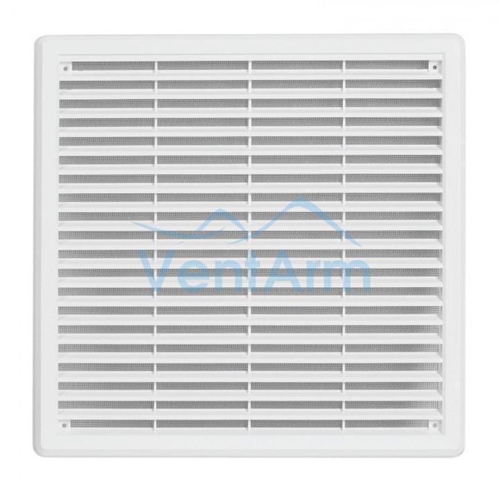 Решетка вентиляционная пластиковая  Haco VM 300x300 Белый