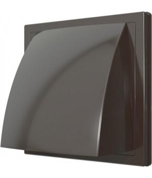 Выход стенной вытяжной с обратным клапаном ERA 1515К10ФВ 100мм коричневый