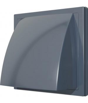 Выход стенной вытяжной с обратным клапаном ERA 1515К10ФВ 100мм серый