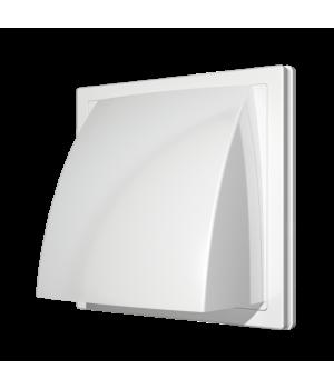 Выход стенной вытяжной с обратным клапаном ERA 1515К10ФВ 100мм белый
