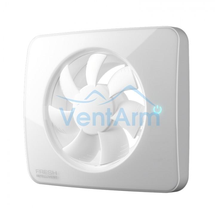Вытяжной вентилятор Fresh Intellivent ICE 100/125 5Вт Белый