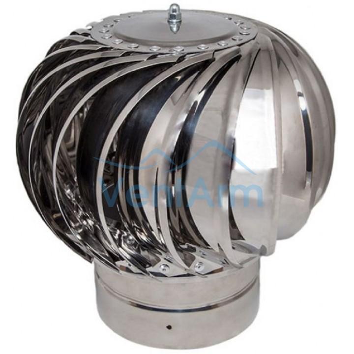 Турбодефлектор  крышный ТД 160мм нержавеющая сталь