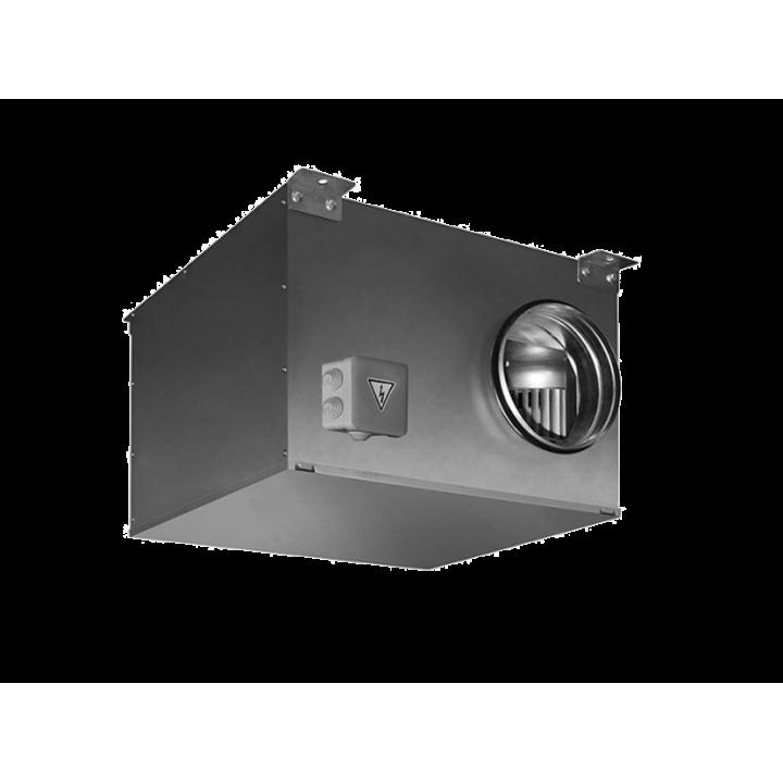 Канальный вентилятор в звукоизолированном корпусе ICFE Ø400 VIM