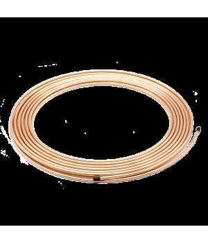 Медная труба PRO 12,7 (1/2) длиной 15 метров с утеплителем