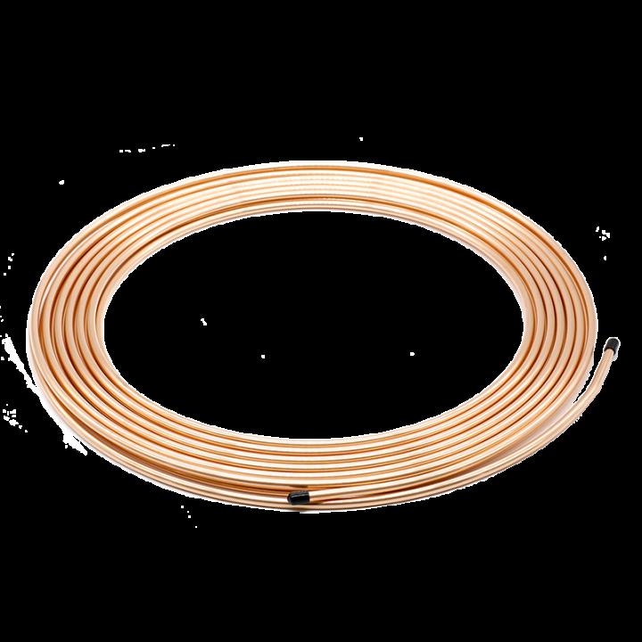 Медная труба PRO 15,88 (5/8) длиной 15 метров с утеплителем