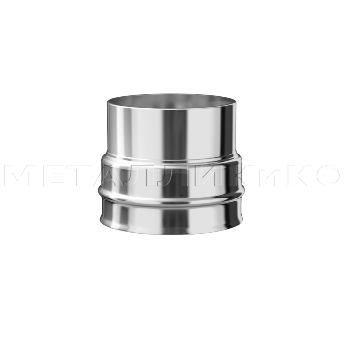 Переход из нержавеющей стали Ø115 х Ø120 1(мм)