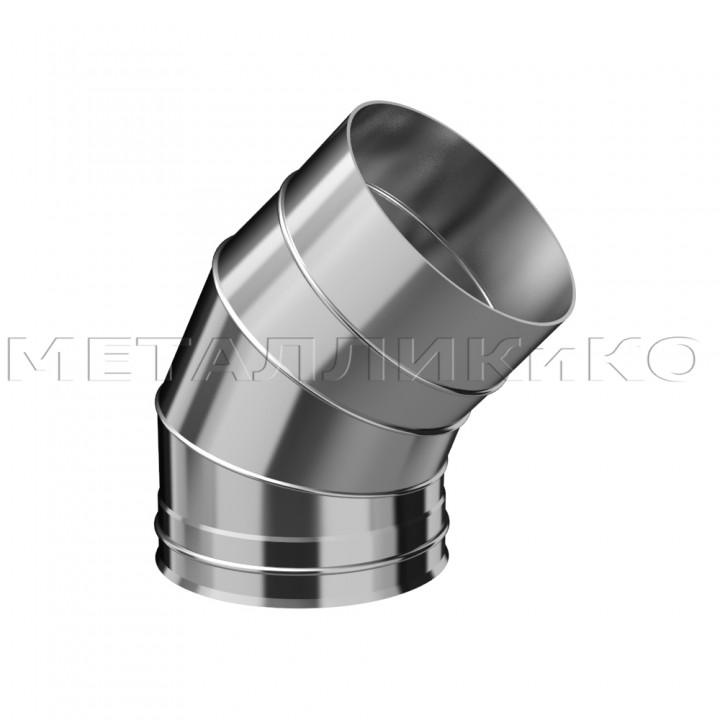 Колено из нержавеющей стали Ø180 135° 1(мм)