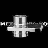Шибер с задвижкой из нержавеющей стали Ø200 1(мм)