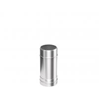 Труба-Дымоход из нержавеющей стали Металлик и КО 120 0.5 м Нм 1.00 мм