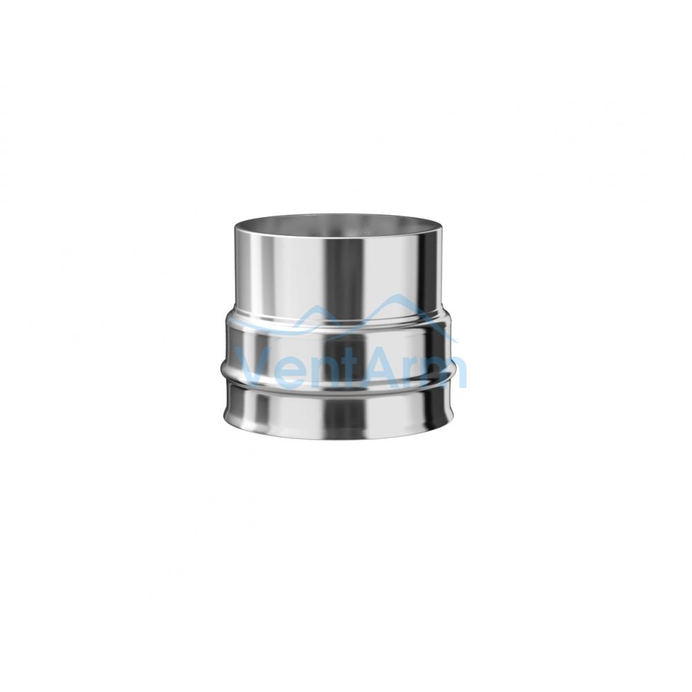 Переход из нержавеющей стали Металлик и КО 135/150 Нм 1.00 мм