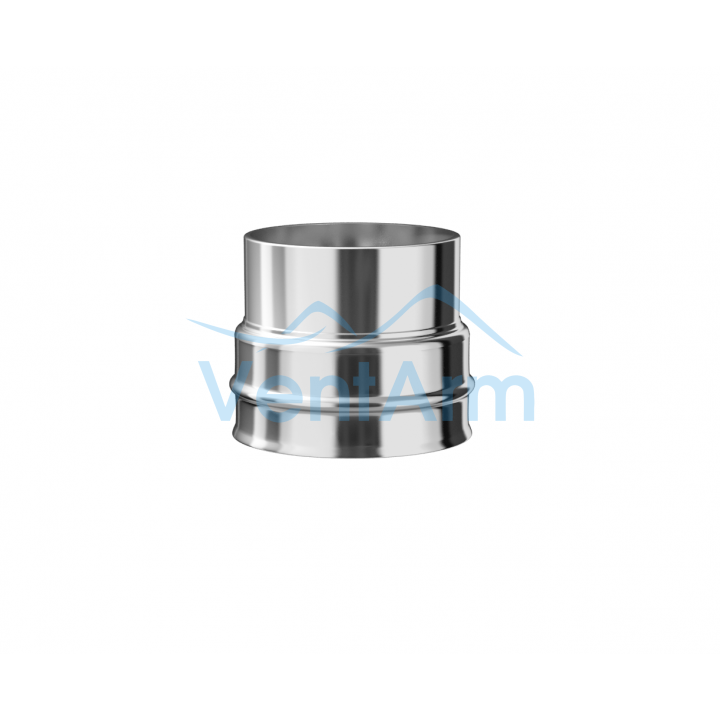 Переход из нержавеющей стали Металлик и КО 180/200 Нм 1.00 мм