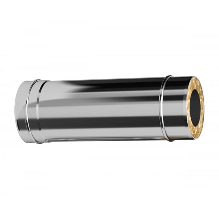 Сэндвич-труба 120X200-1000мм 1.0/0.5 Нм/Оц (КОНДЕНСАТ)