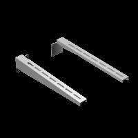 Штанга для стенового хомута L 750x1.0 Нз AISI 430