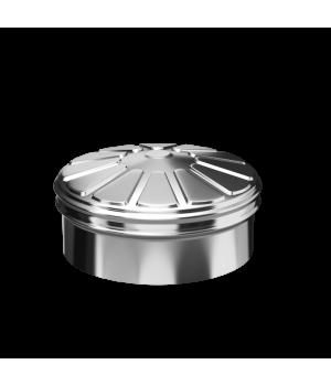 Заглушка тройника сэндвича 120X200 0.5/0.5 Нм/Нз (КОНДЕНСАТ)