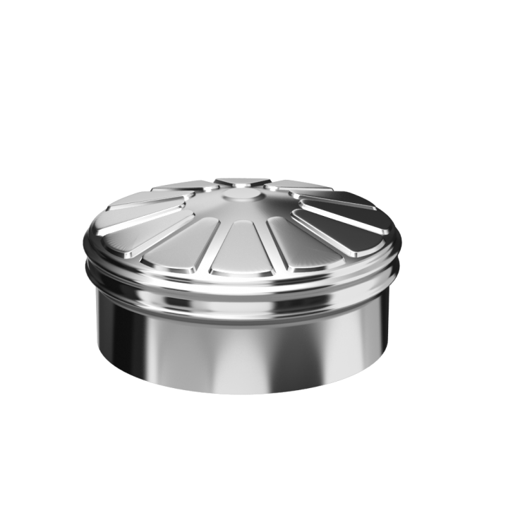 Заглушка тройника сэндвича 150X230 0.5/0.5 Нм/Нз (КОНДЕНСАТ)