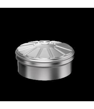 Заглушка тройника сэндвича 120X200 0.5/0.5 Нм/Оц (КОНДЕНСАТ)