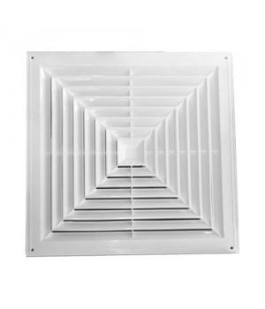 Решетка потолочная пластиковая 4VA 595x595