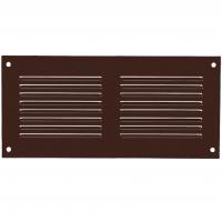 Решетка вентиляционная металлическая Europlast MR 2010B 200х100 Коричневый