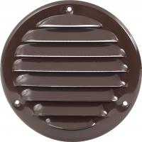 Решетка вентиляционная металлическая Europlast MR 100B Коричневый