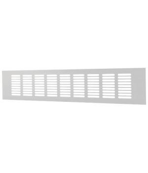 Решетка вентиляционная алюминиевая Europlast RA1040 100х400 Белый