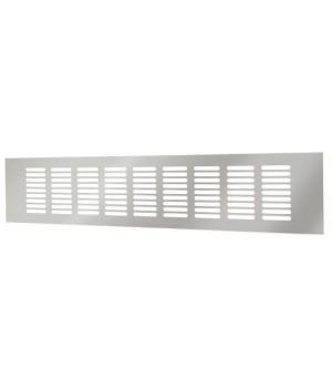 Решетка вентиляционная алюминиевая Europlast RA1040 100х400 Серебро