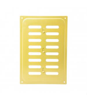 Решетка металлическая с задвижкой Ванвент 16х24 Золото