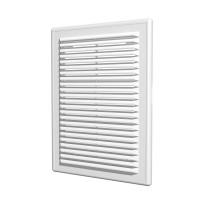 Вентиляционная пластиковая решетка 180х250 Белый