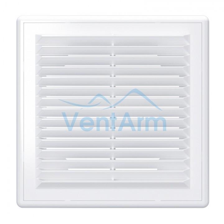 Решетка вентиляционная пластиковая Era 2525Р 250х250 Белый