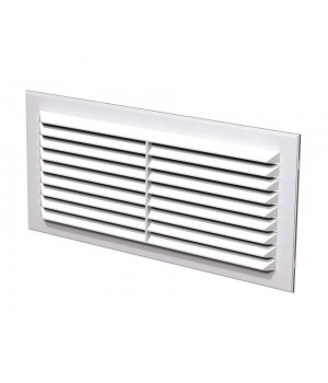 Решетка вентиляционная пластиковая Era 1122С 217х113 Белый