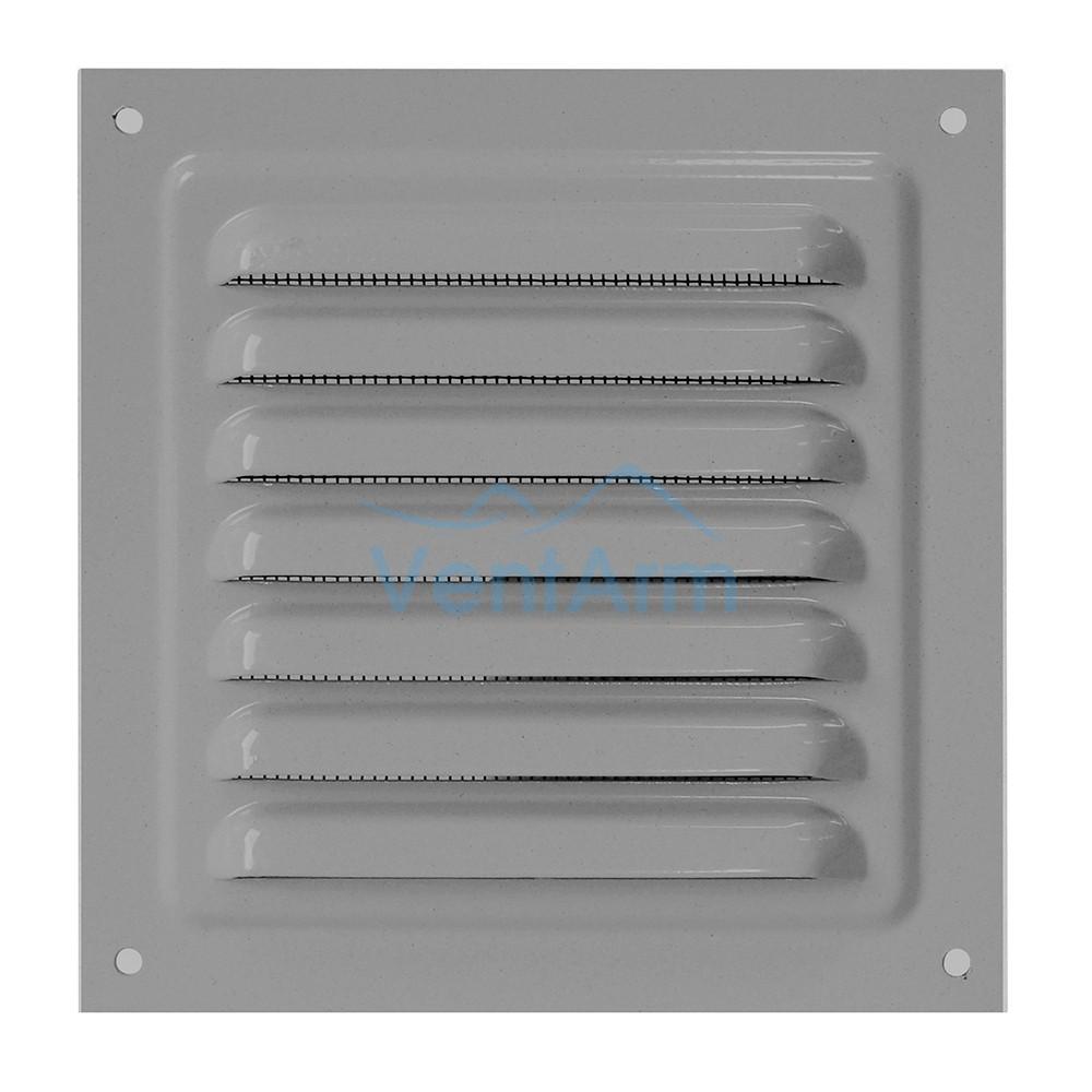 Решетка металлическая с сеткой Vents MBM 200х200 Серый