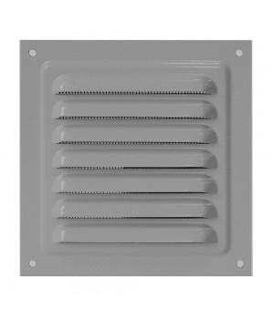 Решетка металлическая с сеткой Vents MBM 250х250 Серый